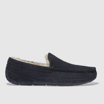 Ugg Navy Ascot Mens Slippers#