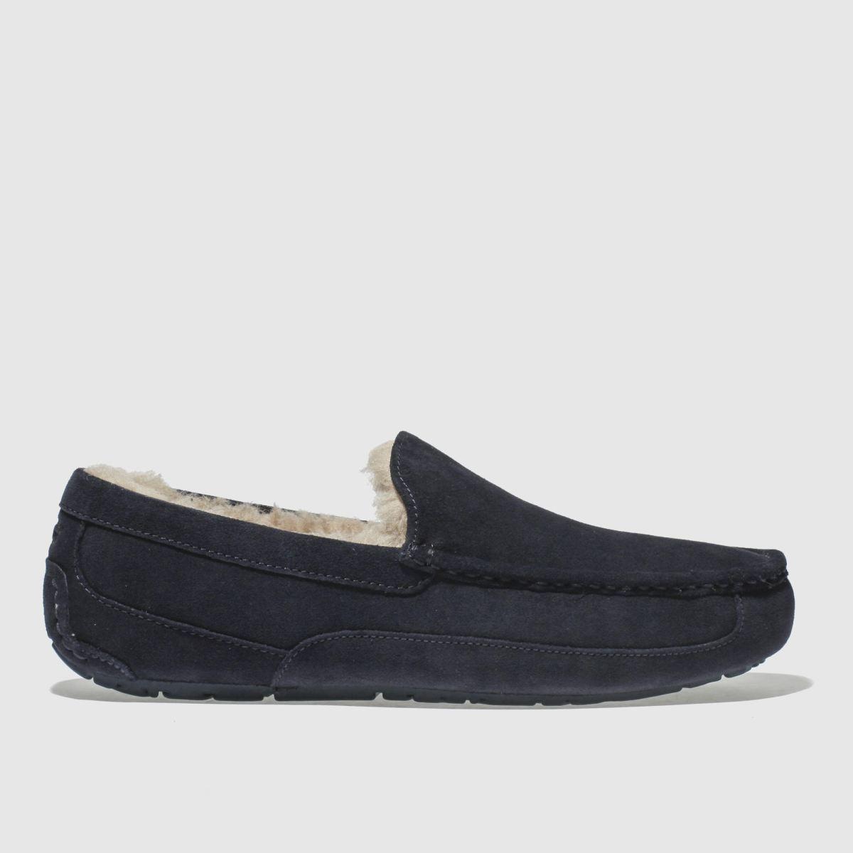 Ugg Navy Ascot Slippers