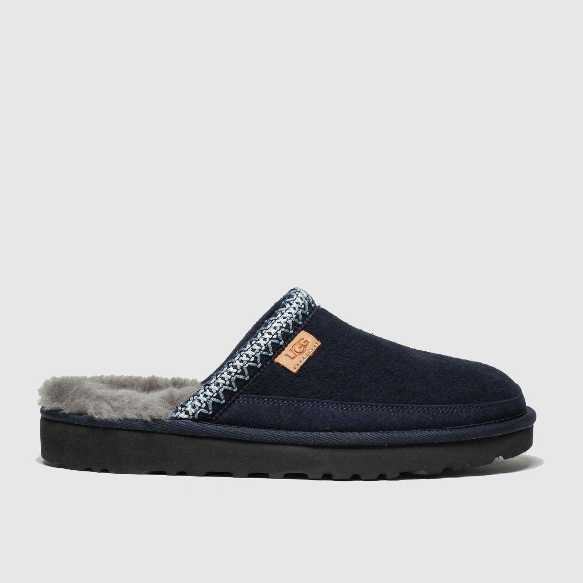 Ugg Navy Tasman Slip-on Slippers
