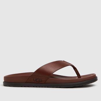 UGG Tan Wainscott Flip Mens Sandals