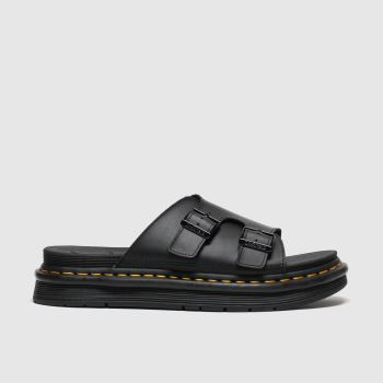 Dr Martens Black Dax Mens Sandals