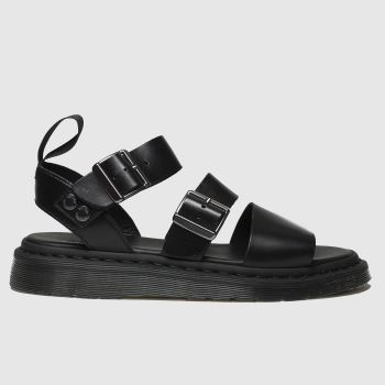 Dr Martens Black Gryphon c2namevalue::Mens Sandals