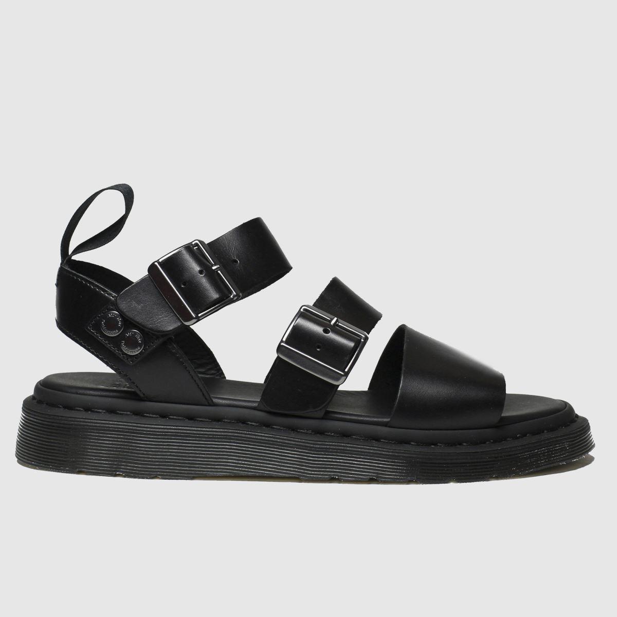 Dr Martens Black Dm Gryphon Sandal Sandals