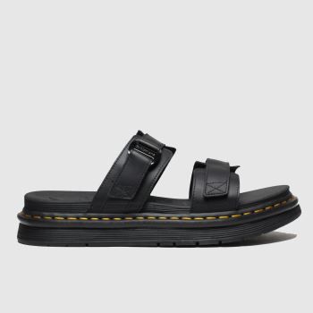Dr Martens Black Chilton Mens Sandals