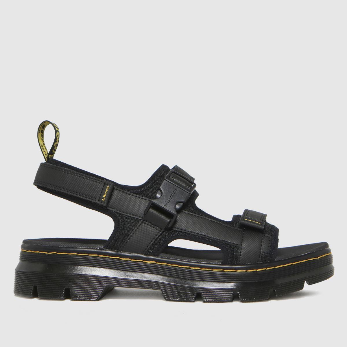 Dr Martens Black Forster Sandals