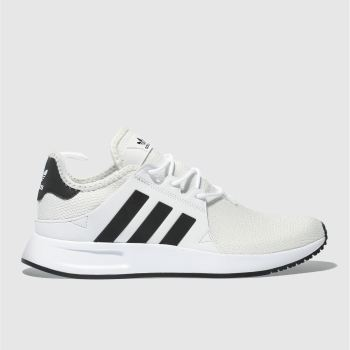 ADIDAS WHITE & BLACK X_PLR TRAINERS
