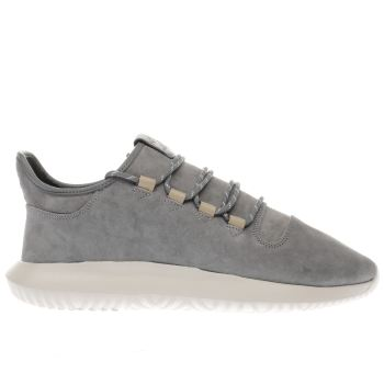 Adidas Grey Tubular Shadow Mens Trainers