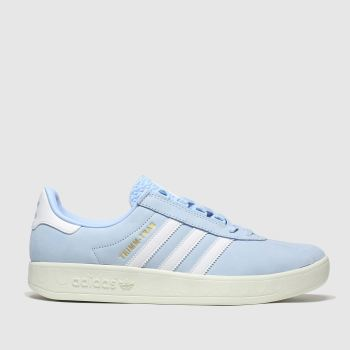 Adidas Pale Blue Trimm Trab Samstag Mens Trainers