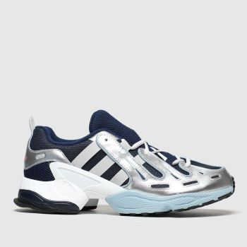 Adidas Grey & Navy Eqt Gazelle Mens Trainers