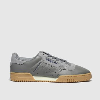 adidas Grey Powerphase Mens Trainers