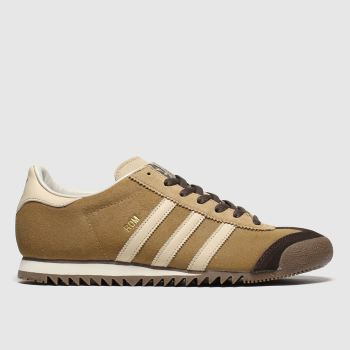 Adidas Brown & Stone Rom c2namevalue::Mens Trainers