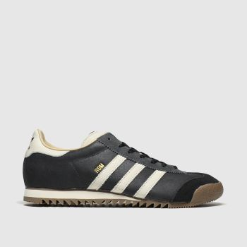Adidas Stone & Black Rom Mens Trainers