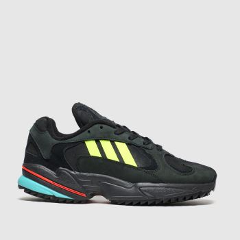 Adidas Black Yung-1 Trail Mens Trainers