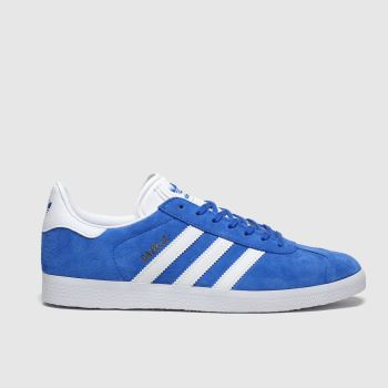 Adidas Blue Gazelle c2namevalue::Mens Trainers