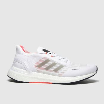 Adidas White & Black Ultraboost Summer Rdy c2namevalue::Mens Trainers
