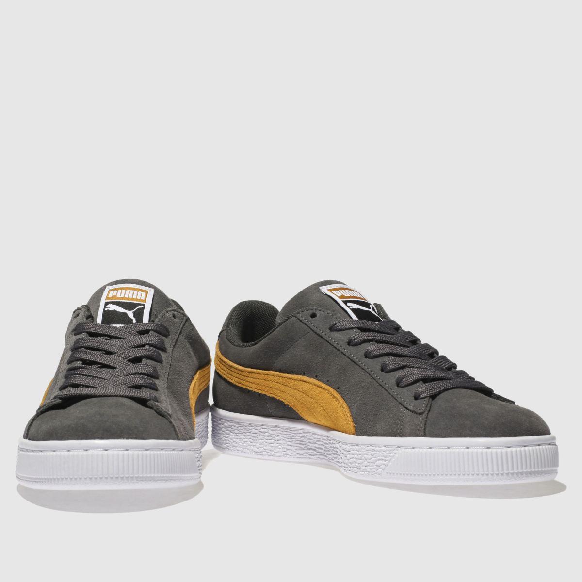 Herren Dunkelgrau puma Suede Classic Sneaker | schuh Gute Qualität beliebte Schuhe