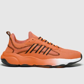 adidas Orange Haiwee Mens Trainers