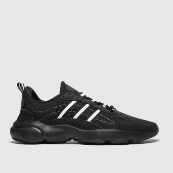 Adidas Black & White Haiwee c2namevalue::Mens Trainers