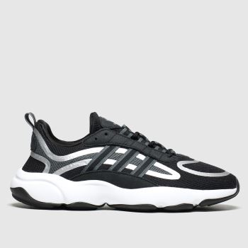Adidas Black & Silver Haiwee c2namevalue::Mens Trainers