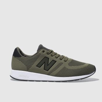 New Balance Khaki 420 Mens Trainers