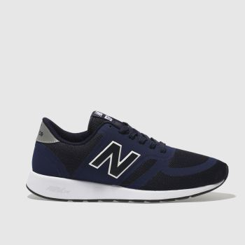 New Balance Navy & White 420 Mens Trainers