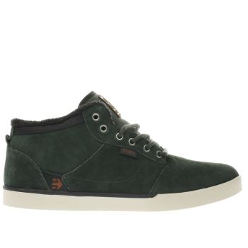 Etnies Green Jefferson Mid Mens Trainers