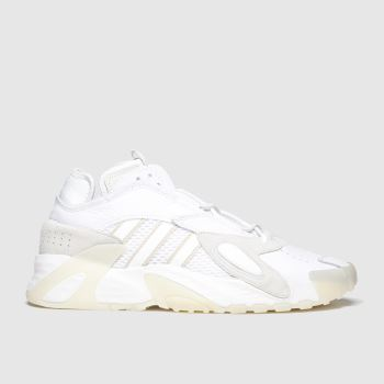Adidas White Streetball c2namevalue::Mens Trainers