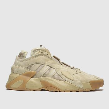 Adidas Beige Adi Streetball c2namevalue::Mens Trainers