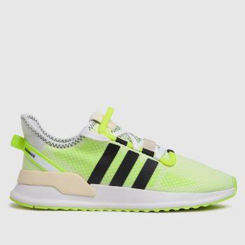 adidas Yellow U_path Run Mens Trainers