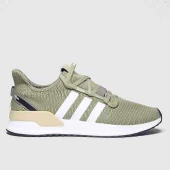 Adidas Khaki U_path Run Trainers