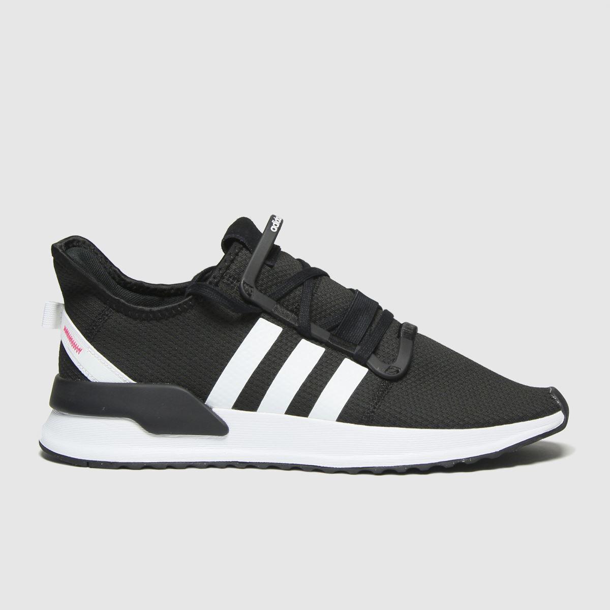Adidas Black & White U_path Trainers