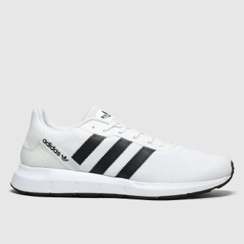 Adidas White & Black Swift Run Rf Mens Trainers
