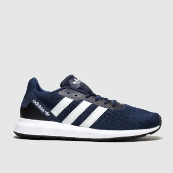 Adidas Navy & White Swift Run Rf Mens Trainers