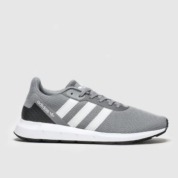 Adidas Grey Swift Run Rf c2namevalue::Mens Trainers