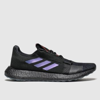 Adidas Black Senseboost c2namevalue::Mens Trainers