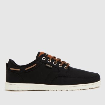 Etnies Black Dory Mens Trainers