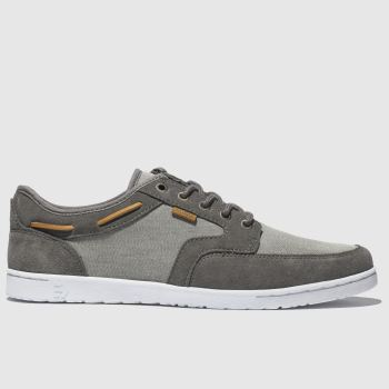 Etnies Grey Dory c2namevalue::Mens Trainers