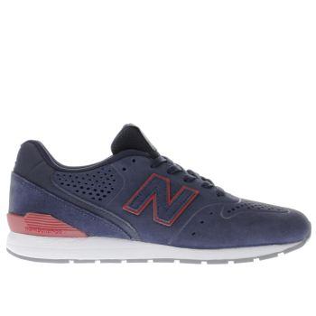 new balance 996 navy red