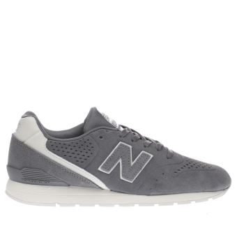 New Balance Grey 996 Mens Trainers
