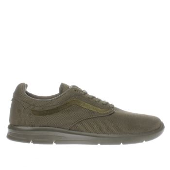VANS DARK GREEN ISO 15 TRAINERS