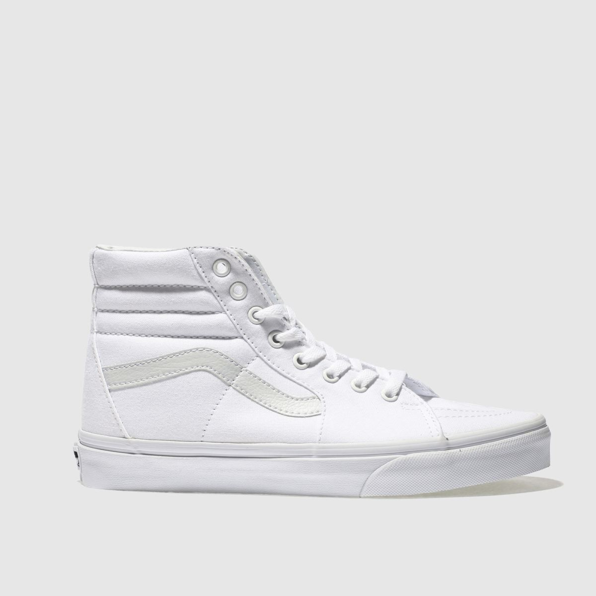 ab495980978a Vans White Sk8-hi Trainers - Female First Shopping