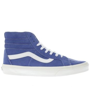 Vans Blue Sk8-Hi Reissue Mens Trainers