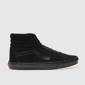 Vans Black Sk8-hi c2namevalue::Mens Trainers