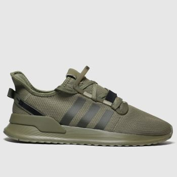 Adidas Khaki U_Path Run Mens Trainers