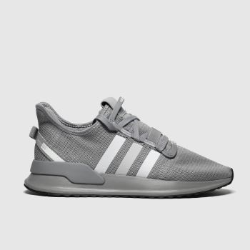 Adidas Grey U_path Run c2namevalue::Mens Trainers