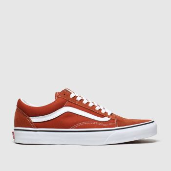 Vans Brown Old Skool c2namevalue::Mens Trainers