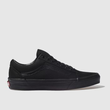 96134a00e24686 Vans Black Old Skool Mens Trainers