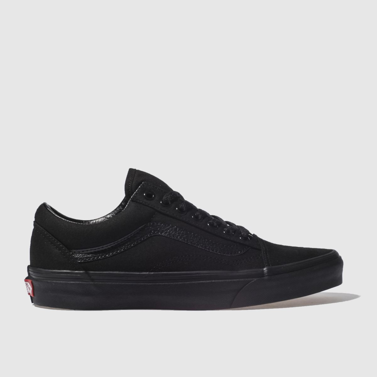 mens black vans old skool trainers schuh. Black Bedroom Furniture Sets. Home Design Ideas