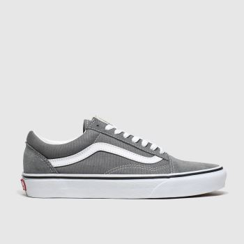 Vans Grey Old Skool Mens Trainers