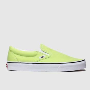 Vans Lime Classic Slip-on Mens Trainers